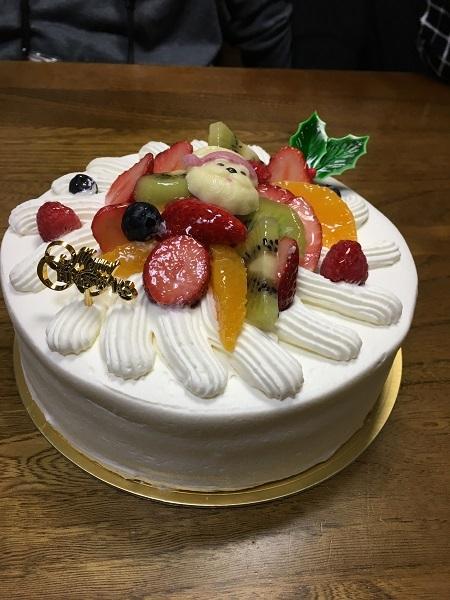 h29,12クリスマスケーキ