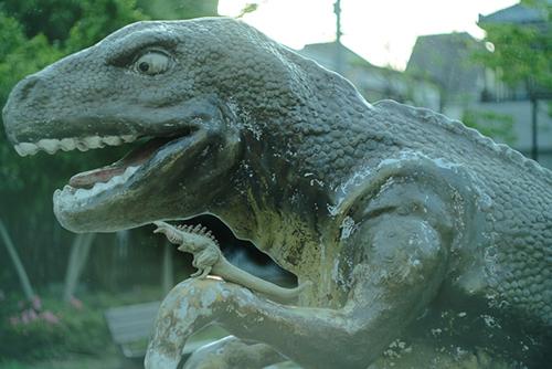 恐竜さんと仲良くなった、シン・ゴジラ第二形態、蒲田くん