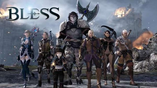 基本無料の正義と向き合う3DオンラインMMORPG 『BLESS』