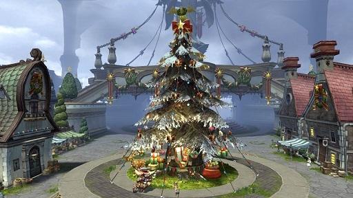 爽快アクションRPG『ドラゴンネストR』 新外伝キャラクター「ブラッディファントム」を実装したよ~!!クリスマスイベントも開催中です♪