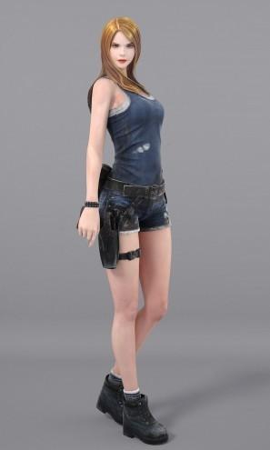 基本プレイ無料のFPSオンラインゲーム『サドンアタック』 新キャラクター「レナ」&「セナ」を実装したよ