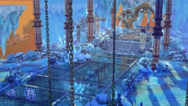 ドラマチックアクションRPG『セブンスダーク』 新システム「守護トランス」と新ダンジョン「蒼氷の祭壇」の実装を決定したよ~!!