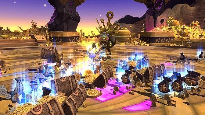 基本プレイ無料の本格アクションRPG『ドラゴンネストR』 新ダンジョン「熱狂!ゴールデンゴブリン」実装したぞ!ゴールドを大量に獲得しようぜ!