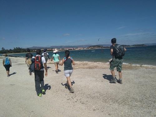 Caminando en la Illa