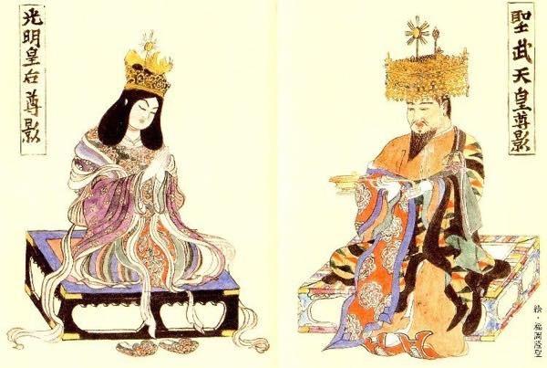 20171223 聖武天皇と光明皇后