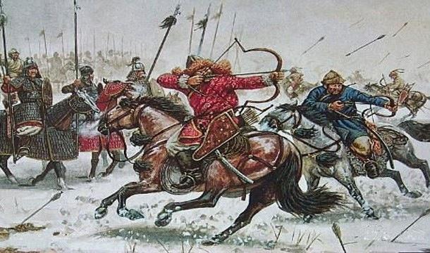 20171227 モンゴル兵