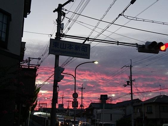 DSC_1491東山本夕焼け