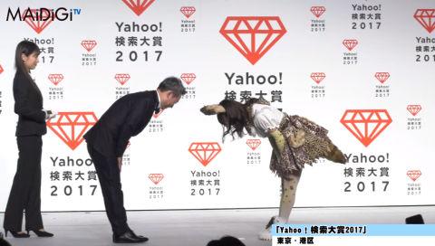 けもフレ・サーバル役、尾崎由香「すっごーい!」 「けものフレンズ」が「Yahoo!検索大賞」アニメ部門賞を受賞