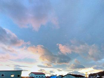 20171111_新冠町の夕方