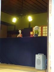 かわいい人形劇!