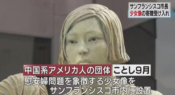 サンフランシスコ 慰安婦像 エド・リー 中国系 韓国 法則