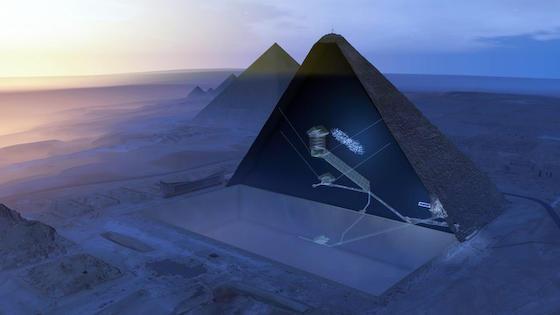ピラミッド クフ王 名古屋大 新発見