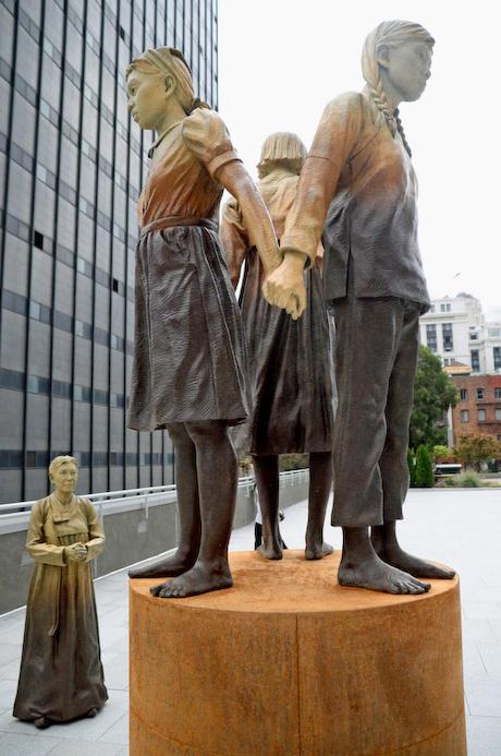 サンフランシスコ 慰安婦像 姉妹都市 大阪市 中国系 韓国
