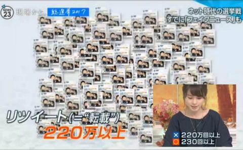 フェイクニュース TBS NEWS23 マスゴミ ネット 訂正