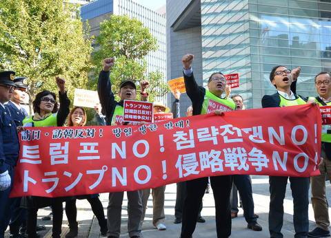 NHK トランプ 訪韓 韓国 北朝鮮