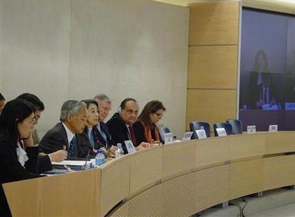 慰安婦 国連 国連人権理事会 最終的且つ不可逆的な解決