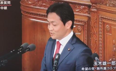 玉木雄一郎 希望の党 小池百合子 東京五輪 代表質問