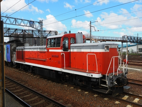 DE10 1691 ディーゼル機関車【苗穂駅】