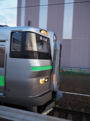 JR北海道 733系 電車 B-118編成【苗穂駅】