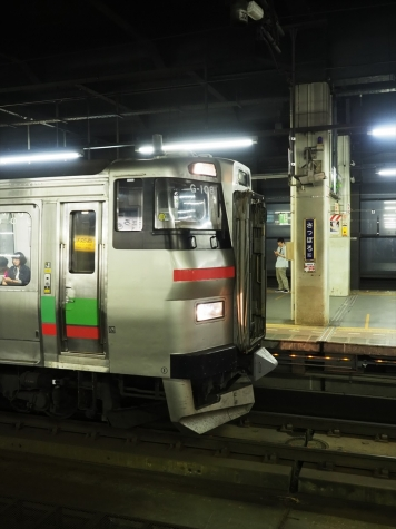 JR北海道 731系 電車 G-108編成【札幌駅】