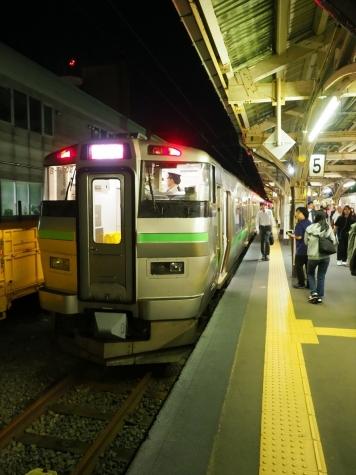 JR北海道 721系電車 快速 エアポート171号【小樽駅】