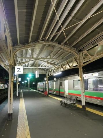 JR北海道 731系 電車 G-113編成【小樽駅】