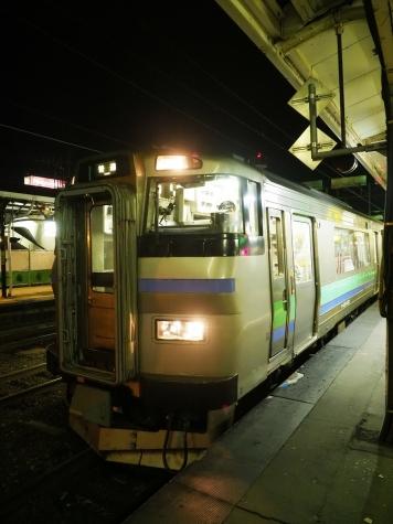 JR北海道 キハ201系 気動車【小樽駅】