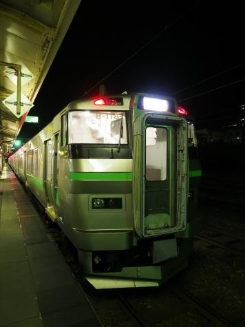 JR北海道 733系 B-118編成+731系 G-113編成 電車【小樽駅】