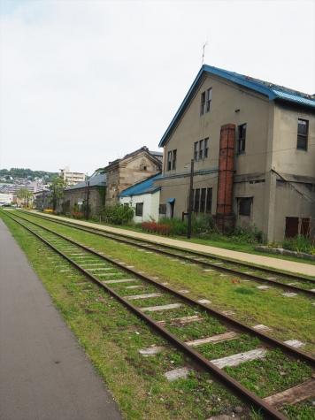 旧手宮線跡【小樽市】
