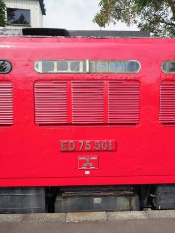 ED75 501 電気機関車【小樽市総合博物館】