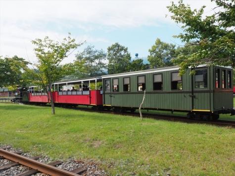 蒸気機関車 アイアンホース号【小樽市総合博物館】