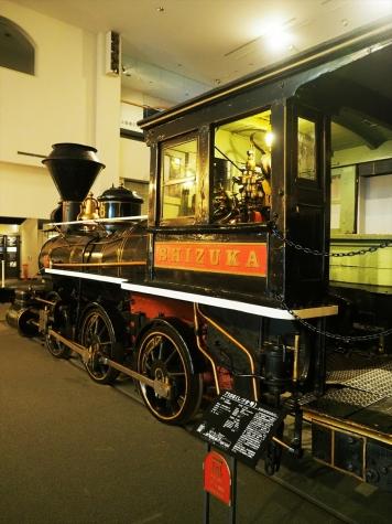 7100形 蒸気機関車 しづか号【小樽市総合博物館】