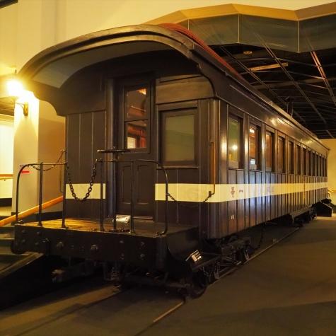 い1客車(一等車)【小樽総合博物館】