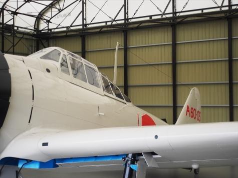 零式艦上戦闘機 二一型(実物大模型)【予科練平和記念館】