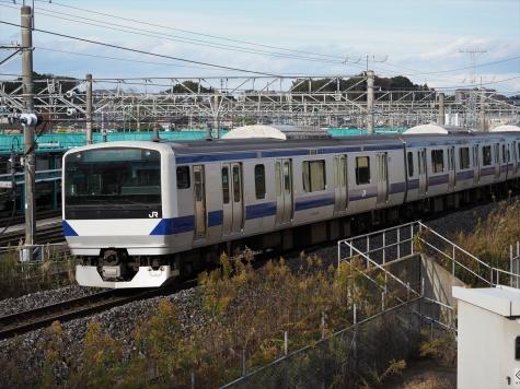 JR常磐線 E531系 電車【土浦運輸区付近】