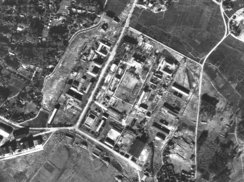 旧霞ヶ浦海軍航空隊【1947年 米軍撮影】