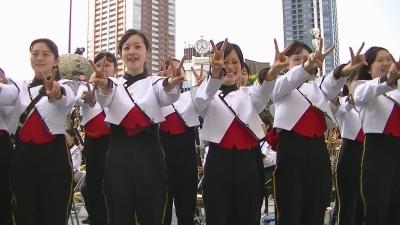 【浜松海の星高校 吹奏楽部】 女子高生 胸元 手を入れ 「パンパカパンツ」1 (6)