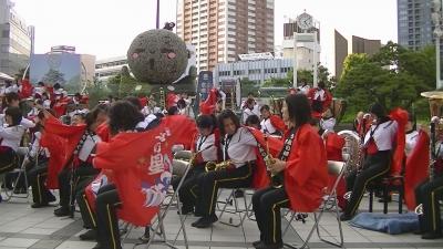 【浜松海の星高校 吹奏楽部】 法被 取り出し 「やらまいか合唱」1 (4)