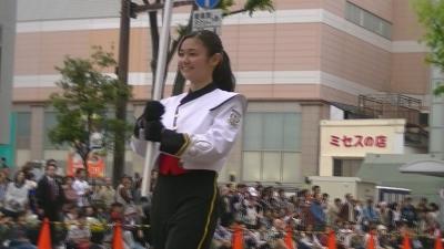 【浜松まつり】 プラ 持ち チア かわいいです 「浜松海の星高校吹奏楽部 」3 (5)