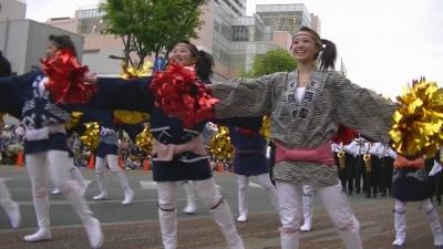 【浜松まつり】 法被 女子高生 「浜松商業」4 (7)