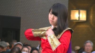 【浜松まつり】 吹奏楽パレード2 「浜松海の星高校」1 (1)