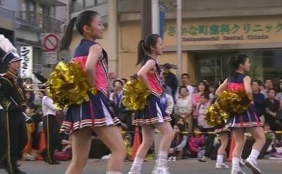 【浜松まつり】 吹奏楽パレード2 「浜松海の星高校」3 (10)