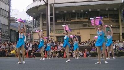 【浜松まつり】 吹奏楽パレード「チア フラッグ落としたょ」 3 (2)