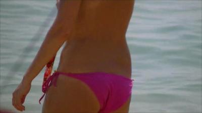 【パタヤひとり旅】 Pattaya ラン島の水着美女1 (2)