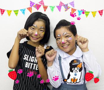貴志川線祭フェイスペイント1