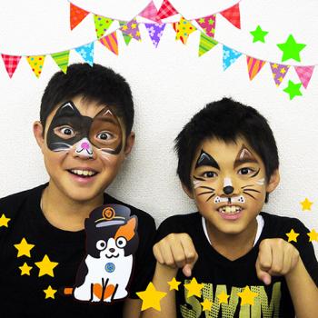 貴志川線祭フェイスペイント2