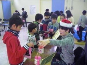 クリスマス会(小学生の部)01