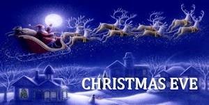 クリスマスイブでんな