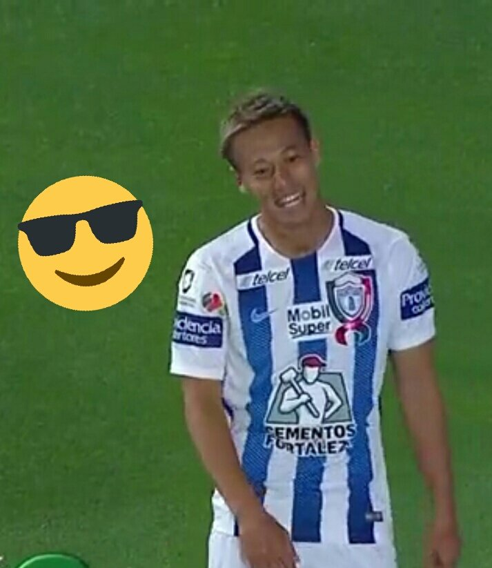 honda big smile Pachuca goal