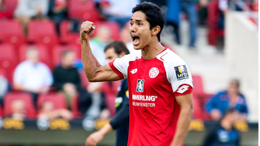 rzielte in Wolfsburg sein zweites Saisontor Yoshinori Muto